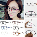 Fashion Optical Glasses Frame Eyeglasses With Clear Glass Men Women Vintage Round Clear Transparent Women's Glasses Frames