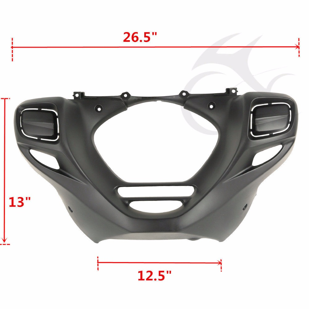 Image 3 - Motorcycle Front Lower Engine Cowl Cover For Honda Goldwing GL1800 2012 2014 2013 F6B 2013 2015-in Covers & Ornamental Mouldings from Automobiles & Motorcycles