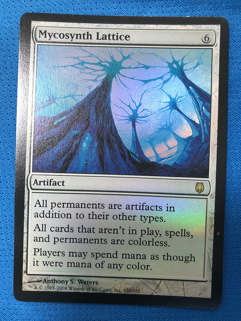 Mycosynth Lattice Darksteel Foil Magician ProxyKing 8.0 VIP The Proxy Cards To Gathering Every Single Mg Card.