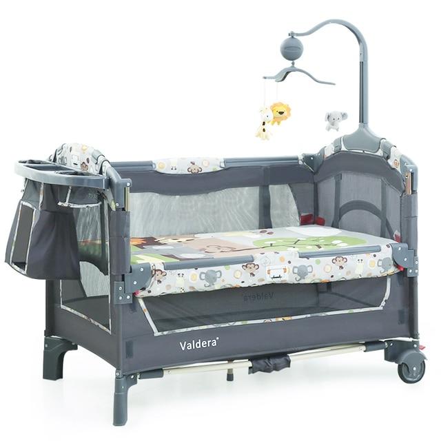 2018 bebé cama cunas para gemelos bebés Valdera UE multifuncional ...
