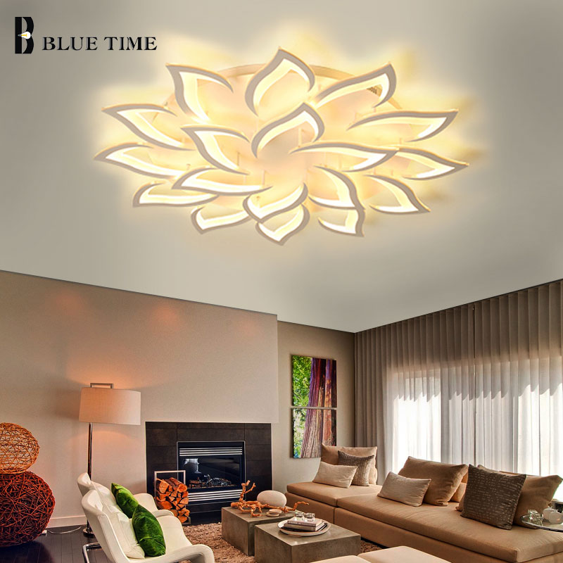 101 Living Rooms With Chandelier Lighting: Lustres Modern Led Chandelier Living Room Bedroom Dining