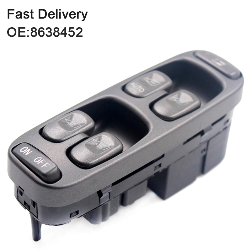 цена на YAOPEI New Electric Power Window Master Control Switch 8638452 For Volvo V70 S70 XC70 1998-2000