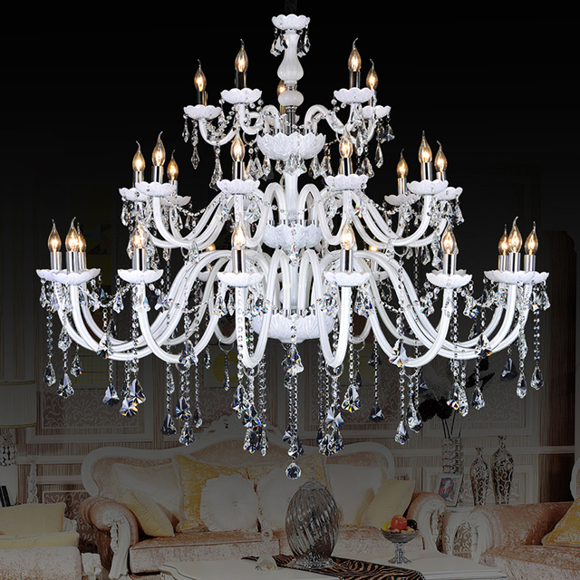 Crystal Large Chandeliers Contemporary Lampshades 30 Antique Brass Kristall Kronleuchter Bohemian Chandelier 18 Lighting