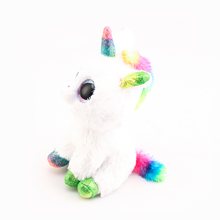 b7360427eef Ty Beanie Boos Stuffed   Plush Animals Colorful White Unicorn Toys Dolls-in  Stuffed   Plush Animals from Toys   Hobbies on Aliexpress.com