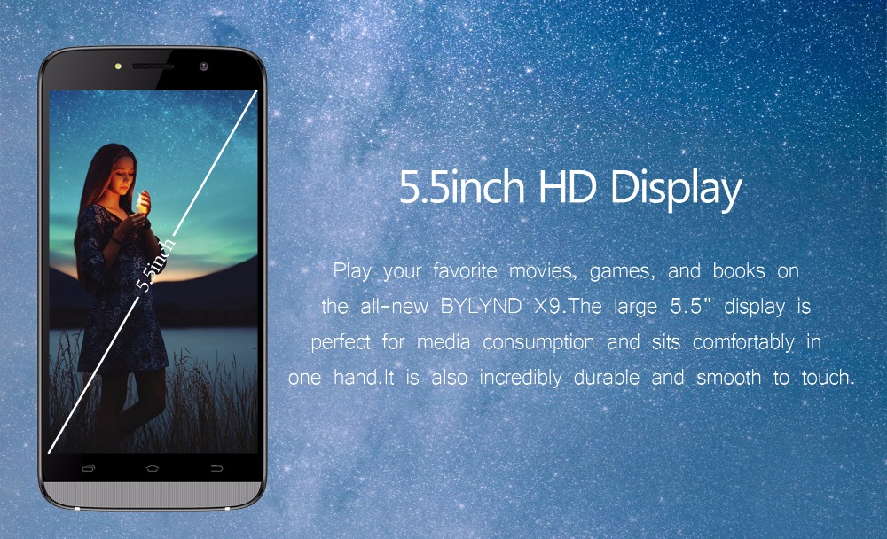 5.5inch HD Display