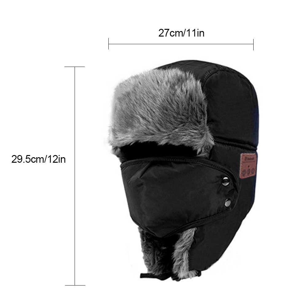 d46c366769414 Aliexpress.com   Buy wholesale!Hot sale Bluetooth Winter Trapper Hat ...