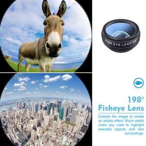 Image 5 - spash 10 in 1 Mobile Phone Lenses CPL Fisheye Macro Wide Angle Lens Phone Camera Lens Kit for iphone Xiaomi Samsung Smartphone