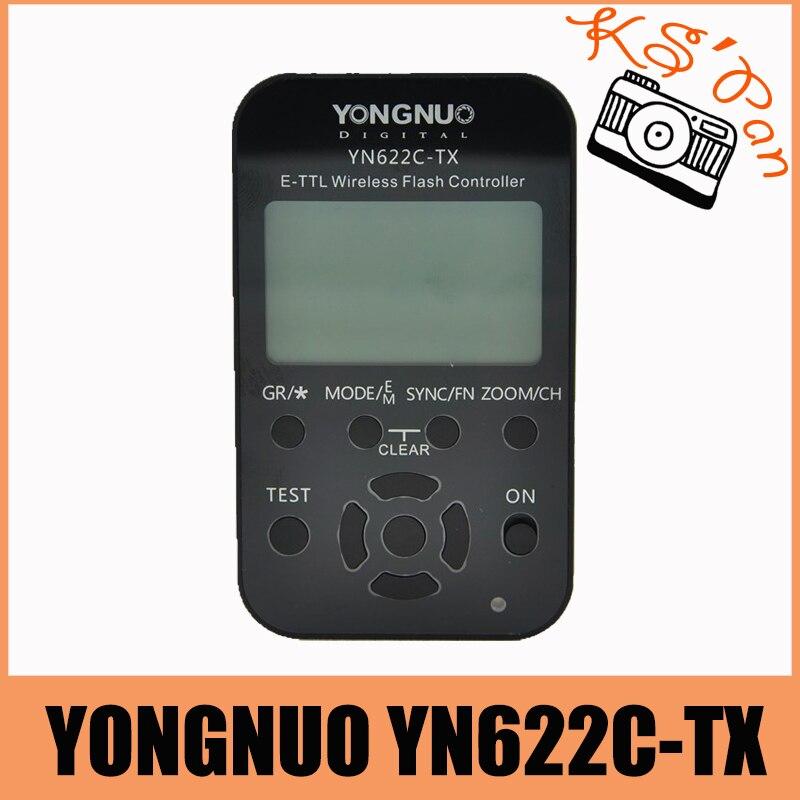YongNuo YN622C TX YN 622C TX E TTL LCD wireless flash controller wireless flash trigger For