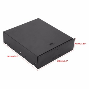 """Image 5 - חיצוני מארז 5.25 """"HDD כונן קשיח נייד ריק מגירת Rack עבור מחשב שולחני"""