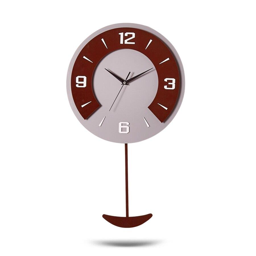 Décor 3d pendule horloge murale en bois Vintage enfants Unique horloge murale Design moderne horloges Klok Zegar meilleure vente 2018 produits 59