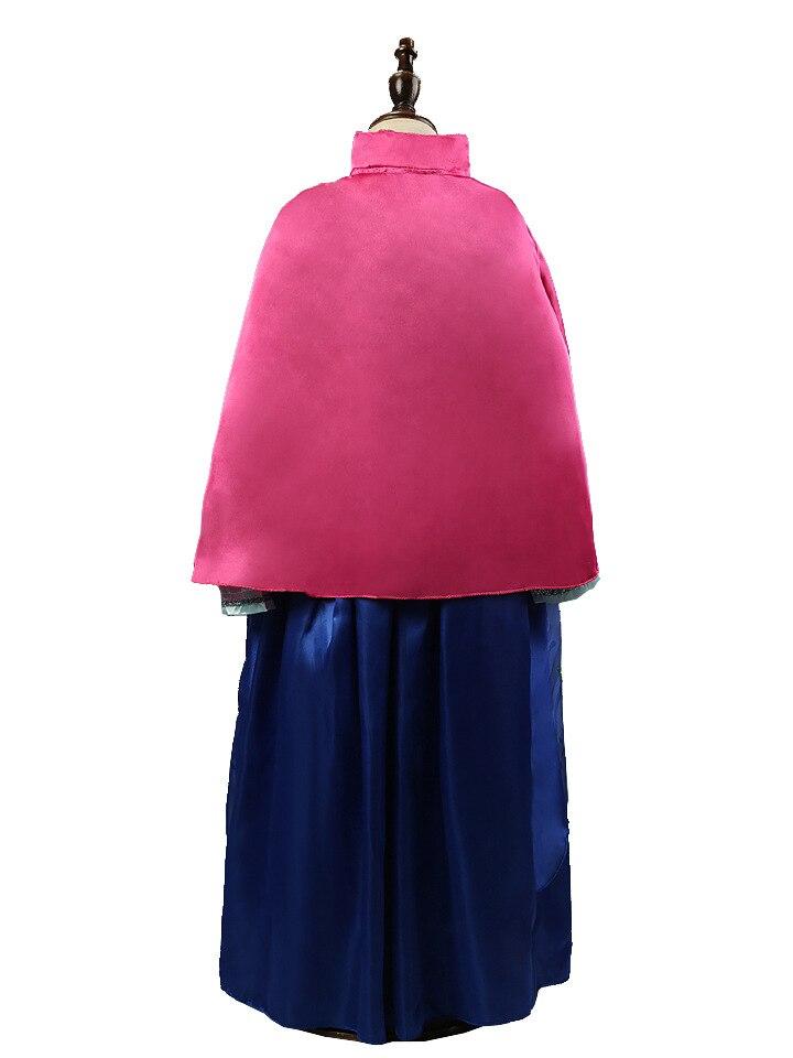 HTB1Byq.kiqAXuNjy1Xdq6yYcVXai 2019 Elsa Dresses For Girls Princess Anna Elsa Costumes Party Cosplay Elza Vestidos Hair Accessory Set Children Girls Clothing