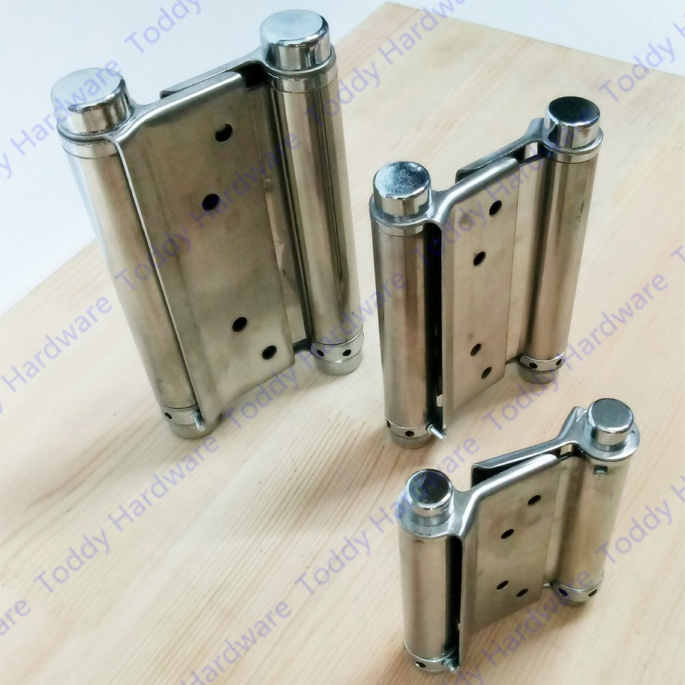 2pcs 3/4/5/6/8 inches Stainless steel door hinge gate hinge door fittings two sides open hinge Spring hinge-in Cabinet Hinges from Home Improvement on ... & 2pcs 3/4/5/6/8 inches Stainless steel door hinge gate hinge door ... pezcame.com