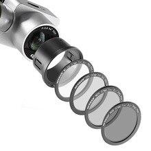 Neewer для DJI Phantom 3 Профессиональный + Расширенный + Стандартная 37 ММ Комплект Фильтров: UV + ND4 + ND8 фильтр Поляризационный Фильтр + Переходное Кольцо + Чехол