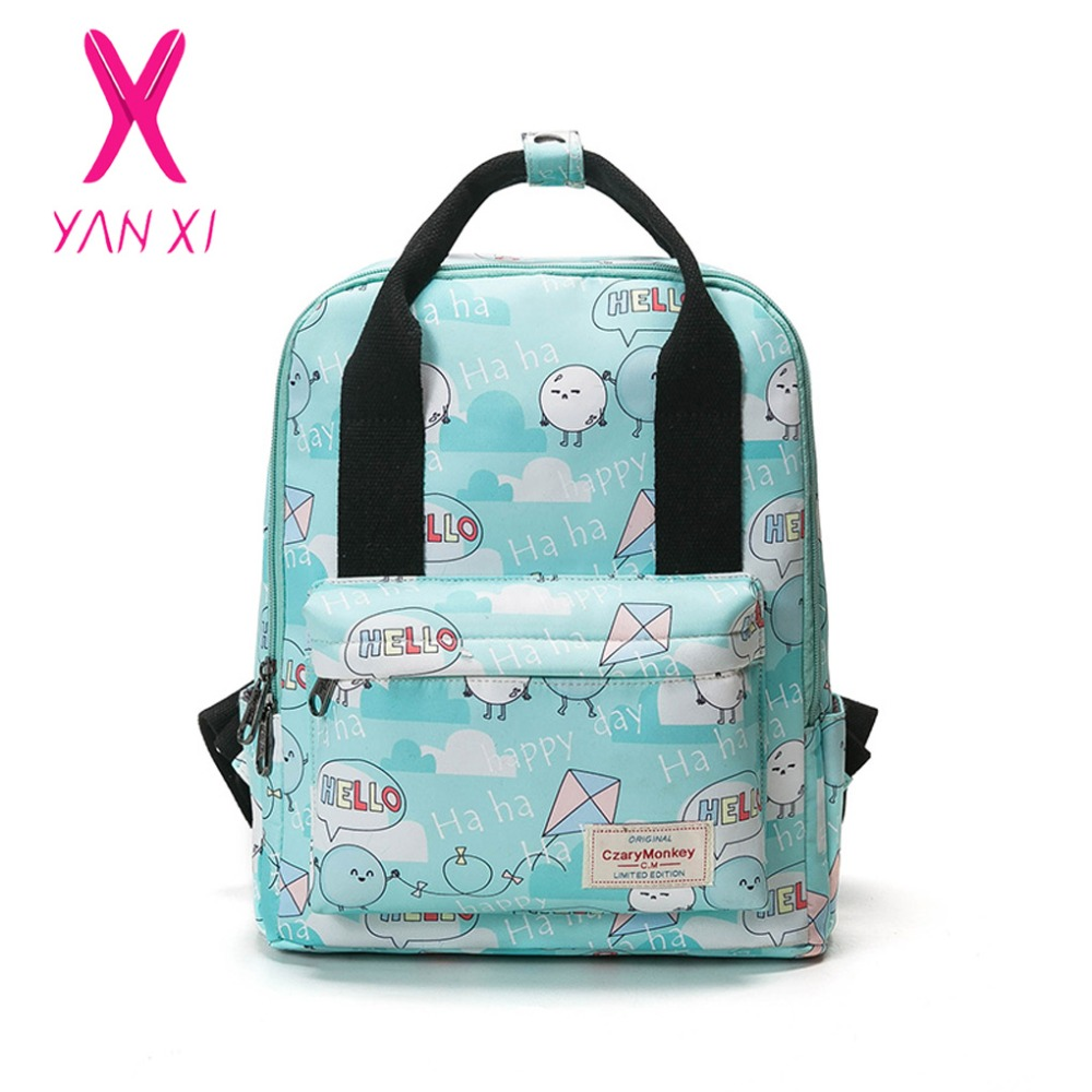 Bags for school on sale - Yanxi 2017 New Hot Sale School Bags For Teenagers Pop Quiz Backpack Male And Female Generic