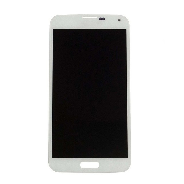 Free shipping + Tools 100% Test Original For Samsung Galaxy S5 i9600 SM-G900 SM-G900F G900 LCD Touch Screen Assembly -White