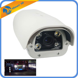 2.0MP 1080P License Plate Recognition Vehicle 1080P AHD LPR Camera 6-22mm Lens 4 LED Suitable Outdoor Waterproof For Parking