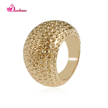 2017 Charms Oval Vintage Punk Rock Rings For Women Ancient KC Gold Plating  Decorative Pattern Lucky Gift Women Jewelry HJ10123