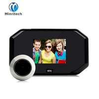 Multifunction Home Security 3 Inch TFT Color Digital TFT Memory Door Peephole Viewer Doorbell Security Camera