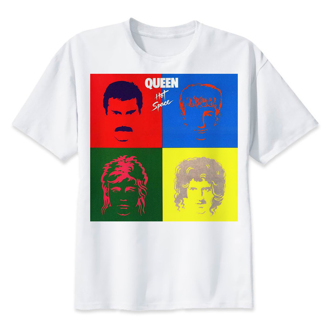 queen band rock T-shirts Men Funny Cotton Short Sleeve O-neck Tshirts  Fashion Summer Style Fitness Brand T shirts T2045 61a5c9e49e26