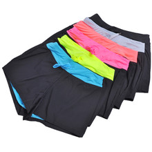 Hot Yoga Short Feminino Women Leisure Sports Shorts Summer Elastic Waist Running Fitness Shorts Sports Mini Shorts