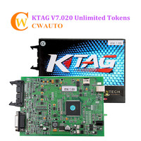 Online Version KTAG 7.020 V2.23 Master Version ECU Programming Tool K TAG with Unlimited Token Add More 140 Tokens