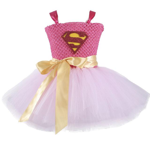 Online-Shop Wonder Frau Superman Mädchen Geburtstag Party Tutu Kleid ...