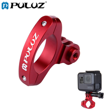 цена на PULUZ Bike Mount For GoPro HERO6 Aluminum Handlebar Adapter For Go Pro Hero5 Bicyle Adapter Mount