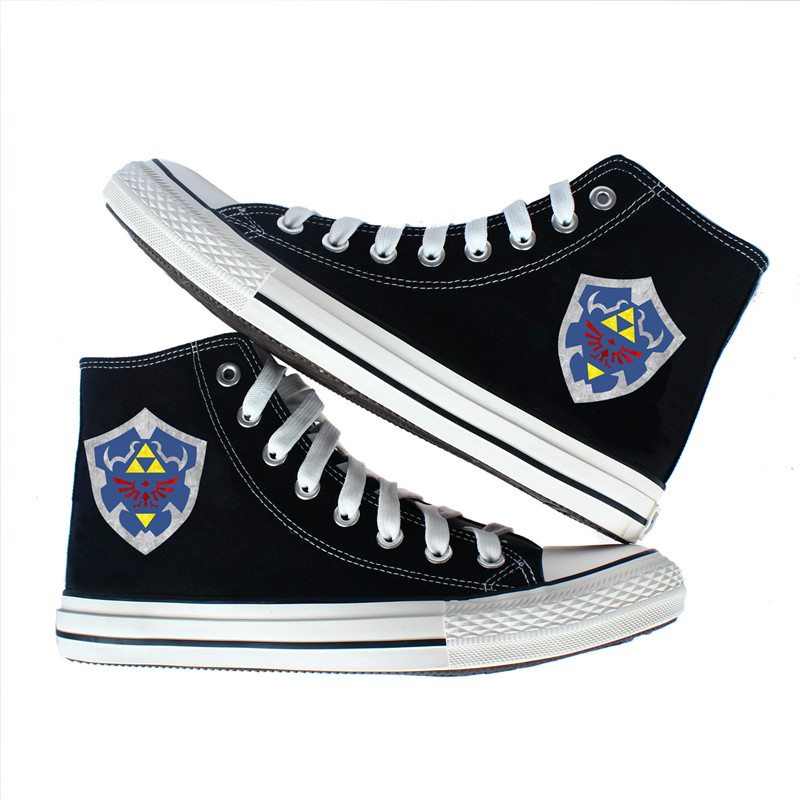 635d2478ac5a The Legend of Zelda Majora s Mask Canvas shoes Flat Shoes Women Men Casual  Printing Shoes Leisure Teenagers Sneakers Shoes-in Shoes from Novelty    Special ...