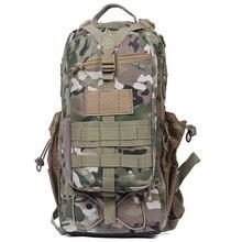 NEW 3p Men's Military Laptop Backpack Waterproof Nylon Bag Multi-function Hike Camp Climb Backpacks Camouflage Travel Bag