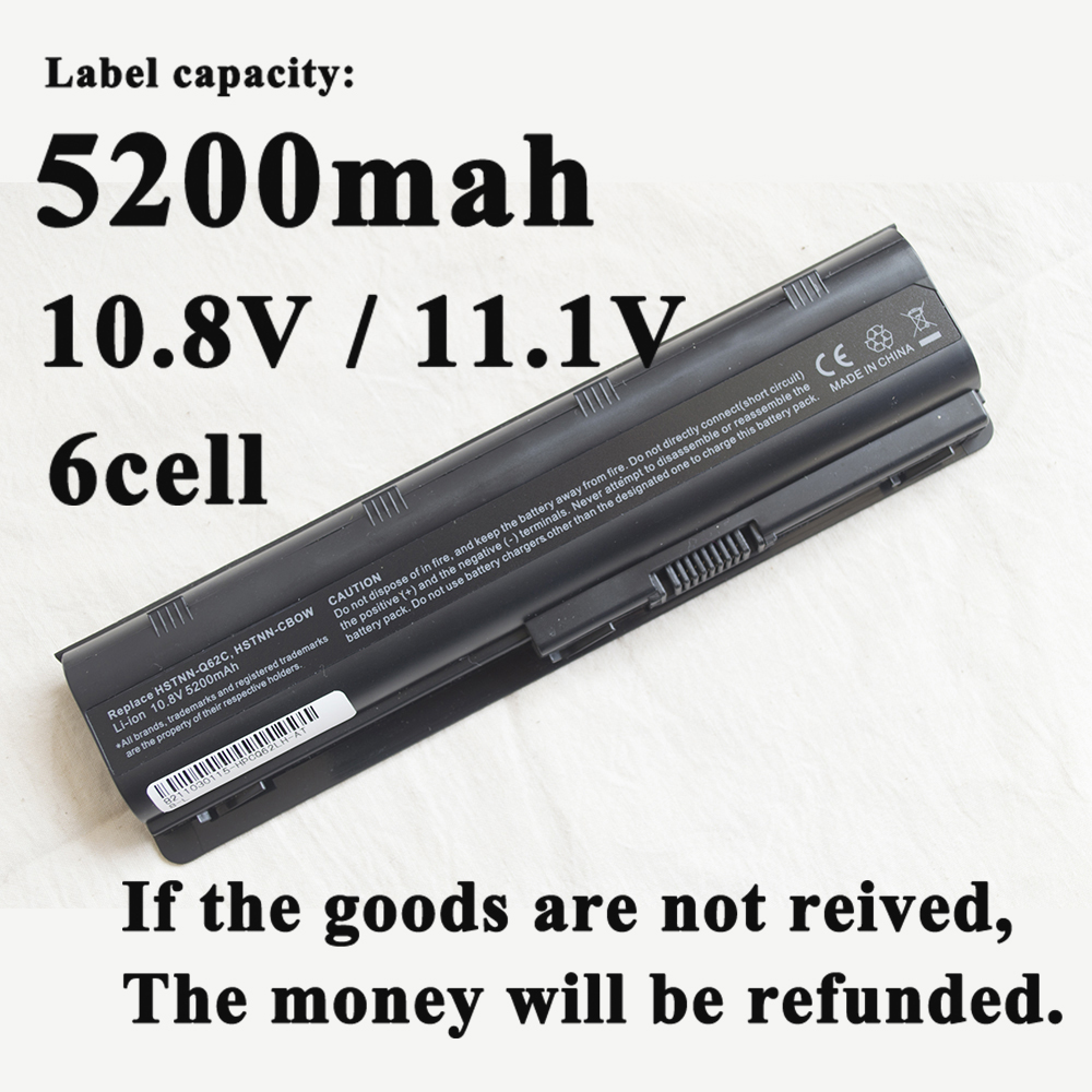 New Laptop Battery For HP Pavilion G4 G6 G7 CQ32 CQ42  CQ72 DM4 HSTNN-CBOX HSTNN-Q60C HSTNN-CB0W MU06 MU09 G32 G42 G62