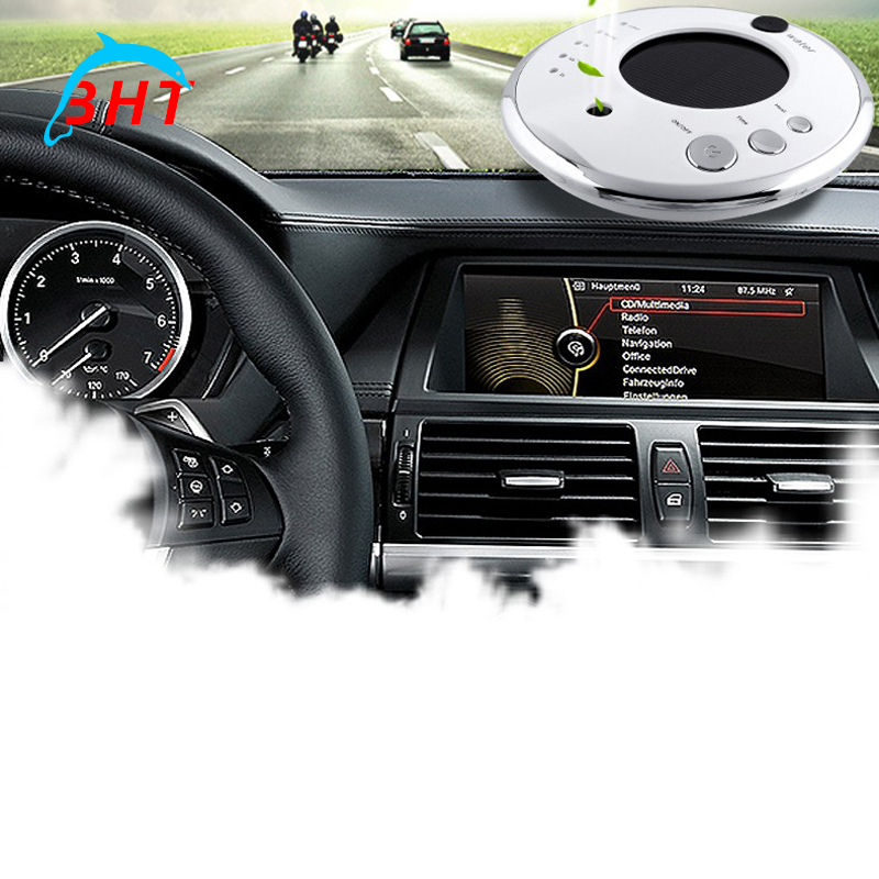 Mini Araba Nemlendirici Oksijen Sağlık Bar Aromaterapi Uçucu Yağ, Hava Difüzör Üç Seviye Ayarı Solar Şarj Mist Maker