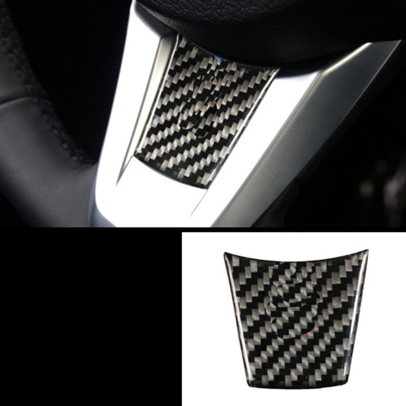 2013 Bmw Z4 Interior: Lsrtw2017 Carbon Fiber Car Steering Wheel Trim For Bmw Z4