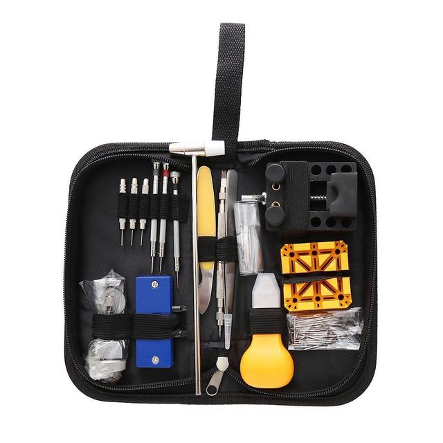 130Pcs/Set Stainless Steel Watch Repair KitsTools Case 507g Opener Multicolor Casual, Store, etc | Repair Tools & Kits