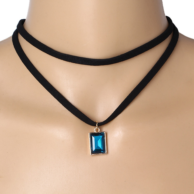 Flannel Choker Necklace