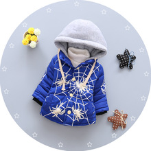New Fashion Baby Boys Casual Coats Winter Super Warm Soft Cotton Thicken Children Boys Outerwear Baby Kids Clothing