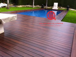 Supply Outdoor Bamboo Decking, Solid Bamboo Decking Board