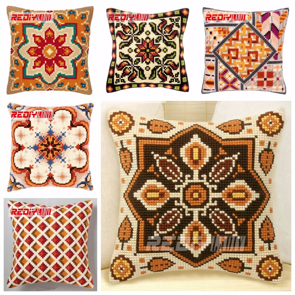 Popular cross stitch cushion buy cheap cross stitch for Buy pillows online cheap