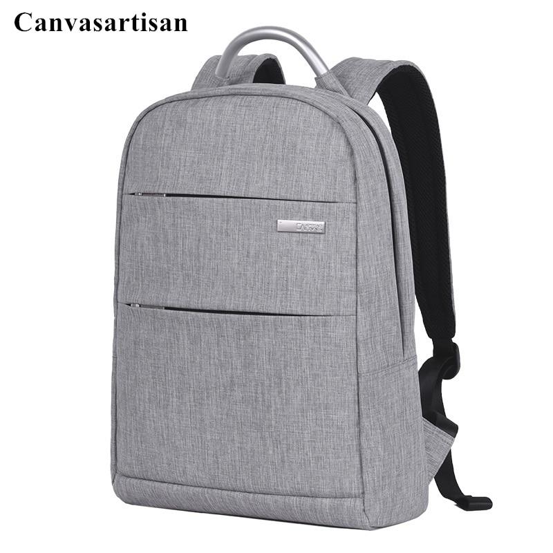 Canvasartisan Brand Backpack For Laptop1414.4,15,15.6,Compute Notebook Bag,For Macbook 15.4,Travel,School Bag,Free ShipL501