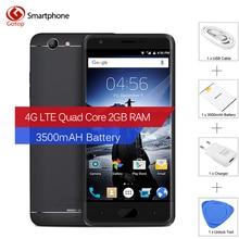 Оригинал Ulefone u008 pro 5.0 Дюймов Смартфон Android 6.0 MT6737 Quad ядро Мобильного Телефона 2 ГБ RAM 16 ГБ ROM 3500 мАч 4 Г Сотовый Телефон