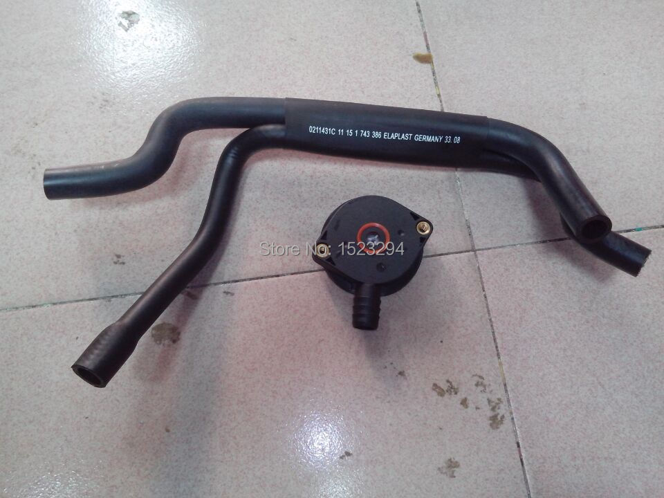 Engine Crankcase Breather Valve /& Hose for BMW E36 E46 Z3 316i 316Ci 318i 318is