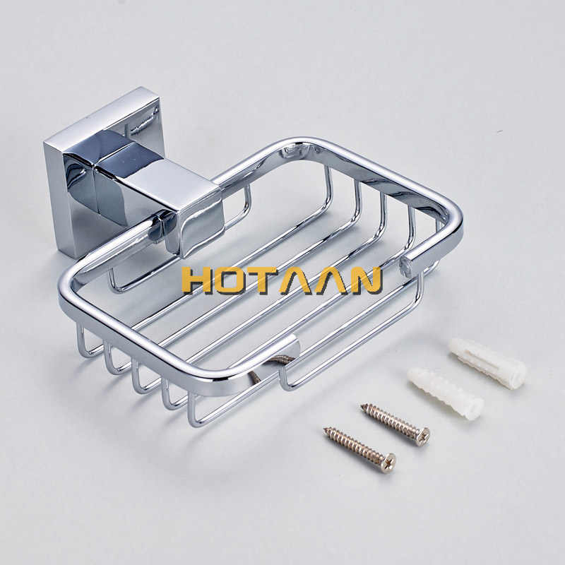 Edelstahl Bad Hardware Set Chrom Poliert Zahnbürste Halter Papier Halter Handtuch Bar Bad Zubehör Quadrat Form