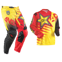 motorcycle clothing suit Motocross Jersey + Motocross Pants Long Sleeve Racing Shirt Motorcycle suit Clothes
