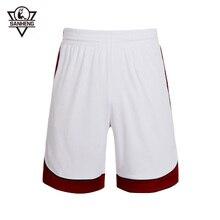 SANHENG Men Basketball Shorts Quick-drying Shorts Men Basketball European Size Basketball Short Pantaloncini Basket 306B