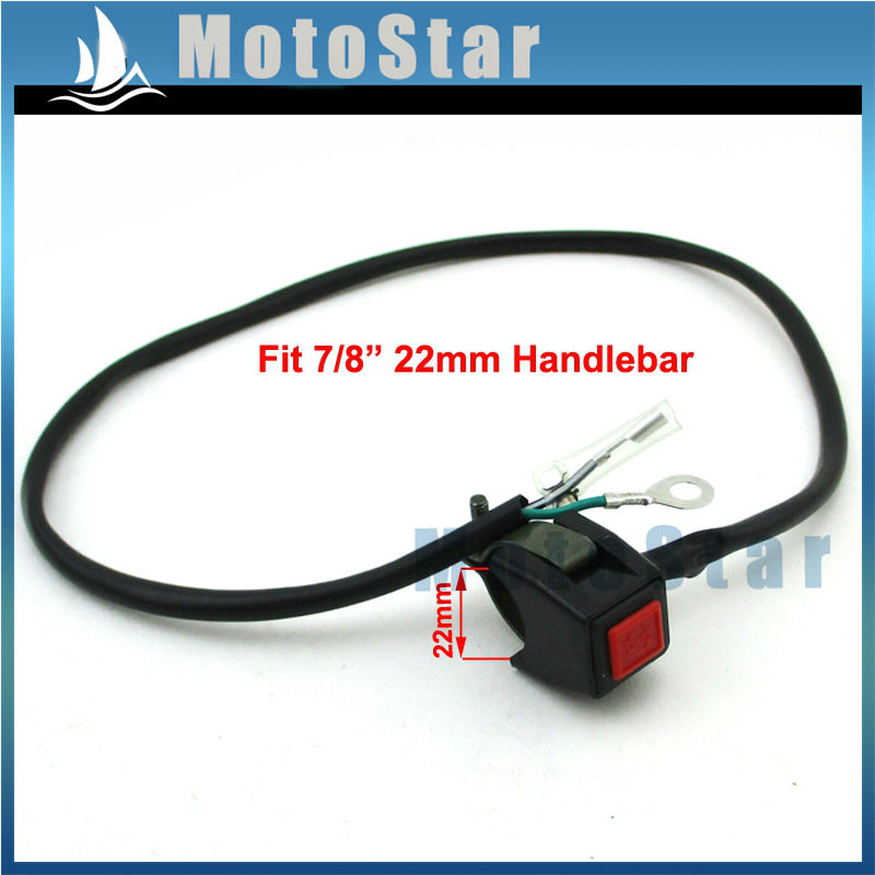 popular atv kill switch buy cheap atv kill switch lots from 22mm handle kill switch for suzuki yamaha honda kawasaki ktm dirt pit bike atv quad