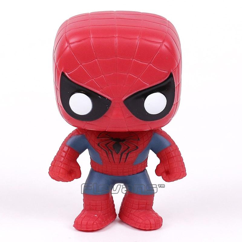 FUNKO POP! Spiderman The Amazing Spider-Man 2 #45 Vinyl Bobble Head Figure Collectible Model Toy  funko pop marvel the amazing spider man 45 spiderman 03 bobble head vinyl action figure collectible model toy retail box w42
