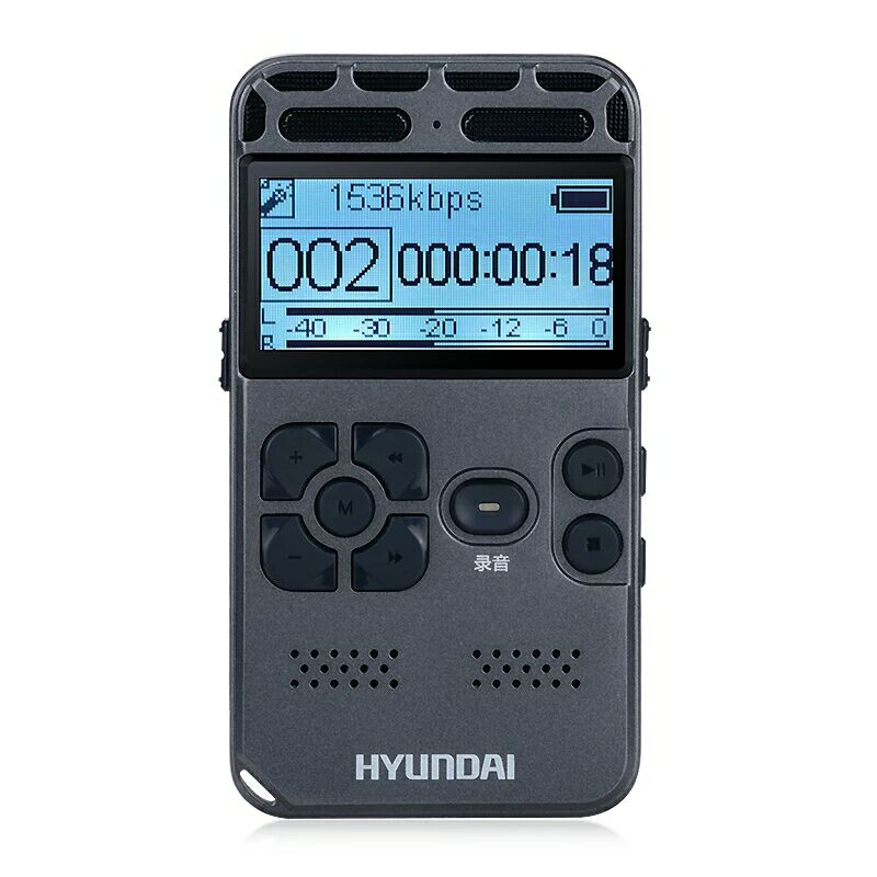 Yescool E188 Portable Professional Voice Recorder Dictaphone Ultra-long Standby Time Noise Reduction Hifi MP3 Player