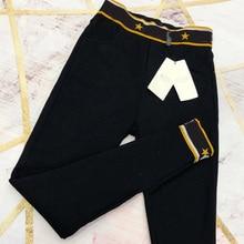 ad12163b35d 2018 Winter pants women Thick Warm High Waist pencil pants Stretch black  White trousers Plus Size