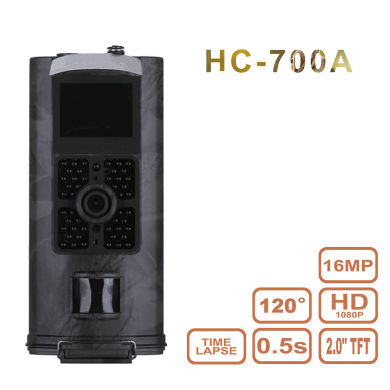 HC700A Hunting Trail Camera Wildlife Scouting Camera Night Vision Hunting Camera HC 700A Hunting Camera Photo Traps ltl acorn 5210a scouting hunting camera photo traps ir wildlife trail surveillance 940nm low glow 12mp