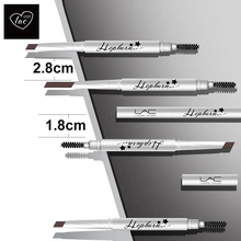 Eye Pencil waterproof sweat-proof durable, colorfast suitable for new learners flat eyebrows with eye brush not eyebrow powder