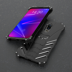 На Алиэкспресс купить чехол для смартфона shockproof metal case for meizu 16 16th plus 16x 16s hard cover aluminum shell dual protection outdoor sports+straps+stand